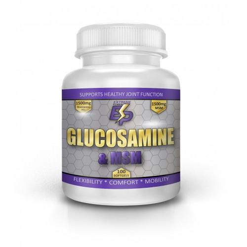 Glucosamine & MSM (глюкозамин и MSM)