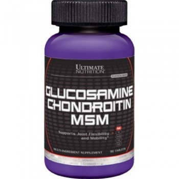 ULTIMATE NUTRITION GLUCOSAMINE & CHONDROITIN MSM (90 ТАБ)